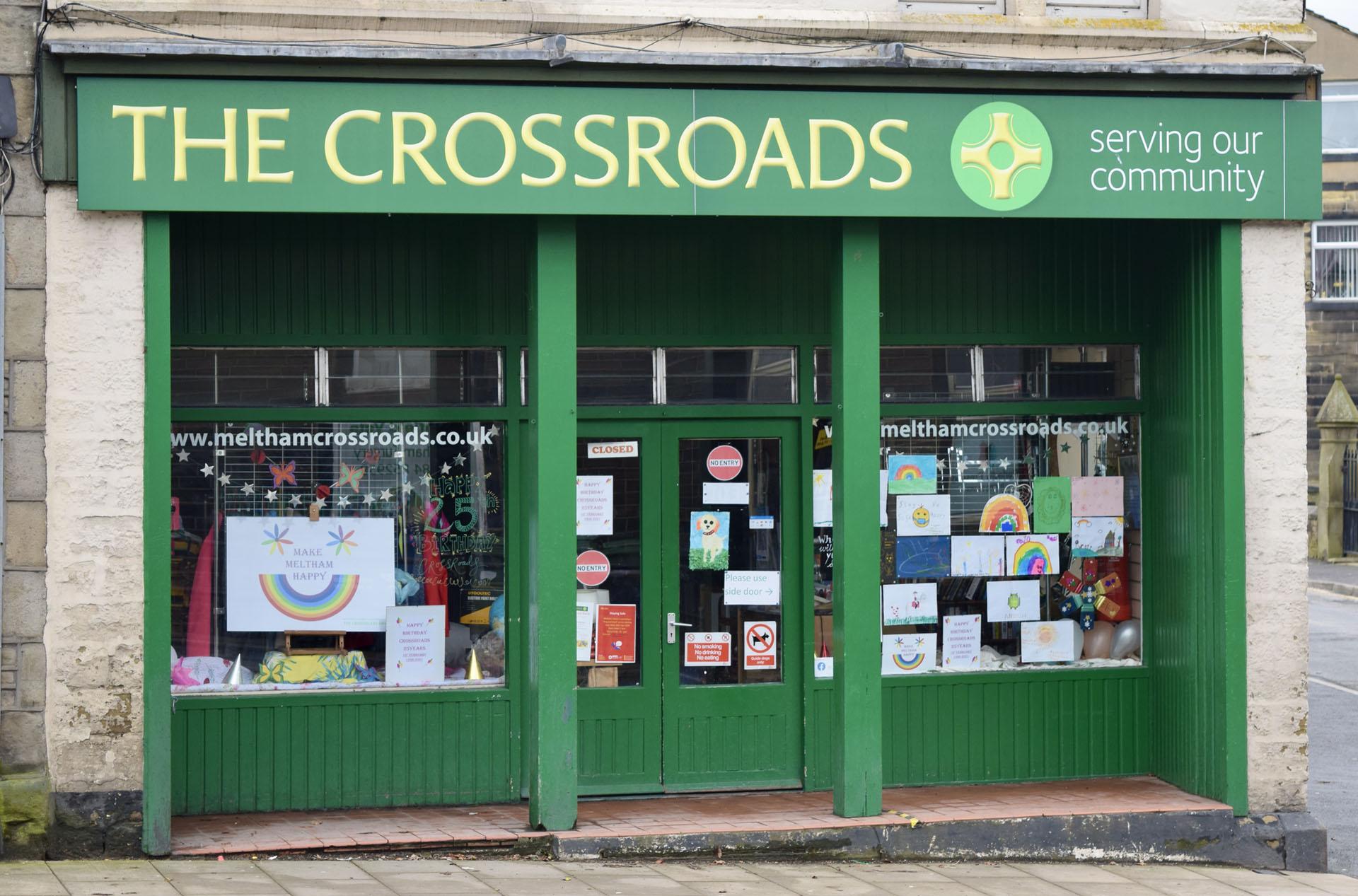 Meltham Crossroads Charity Shop