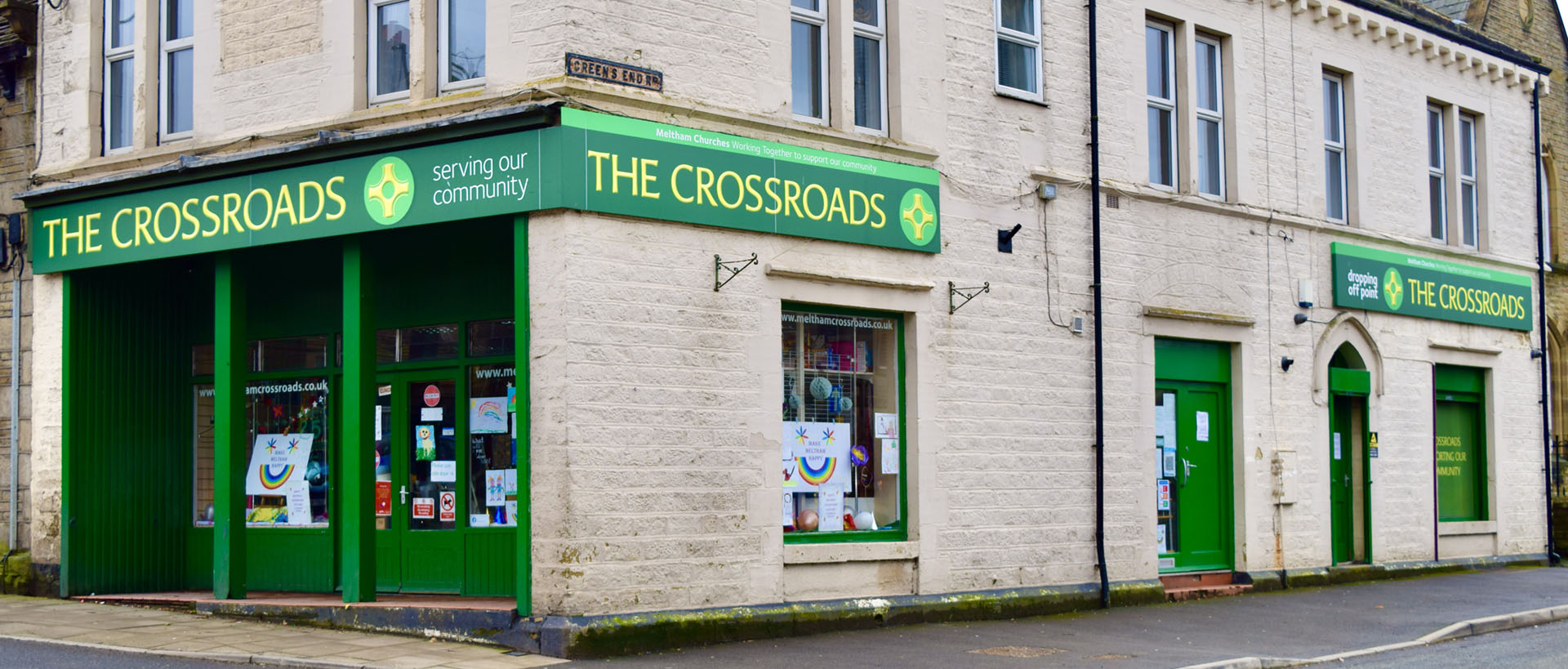 The Crossroads - Charity shop in Meltham